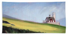 Irish Lighthouse Beach Towel