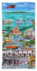 Island Daze Beach Towel