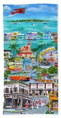 Island Daze Beach Towel