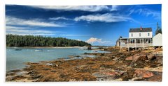 Isle Au Haut House Beach Sheet