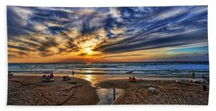 Beach Towel featuring the photograph Israel Sweet Child In Time by Ron Shoshani