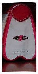 Italian Cafe Beach Towel