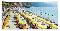 Italy Cinque Terre Monterosso - Beach Towel