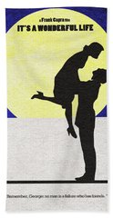 It's A Wonderful Life Beach Towel