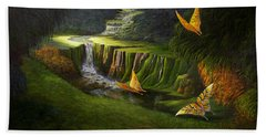 Gods Promise Beach Towel by Loxi Sibley