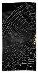 Itsy Bitsy Spider My Ass 3 Beach Towel by Steve Harrington