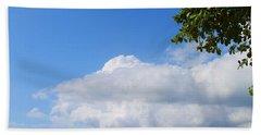 Jamaica Clouds Beach Towel