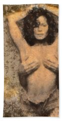 Janet Jackson - Tribute Beach Towel