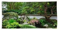 Japanese Gardens Beach Sheet
