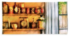 Jars - Kitchen Shelves Beach Towel