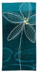 Jasmine Flower Beach Towel