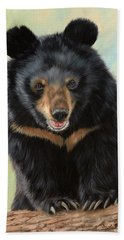 Jasper Moon Bear - In Support Of Animals Asia Beach Towel
