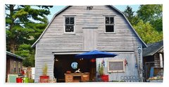 The Old Barn At Jaynes Reliable Antiques And Vintage Beach Towel