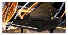 Jazz Piano Bar Beach Sheet