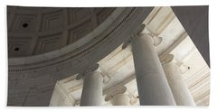 Jefferson Memorial Architecture Beach Sheet