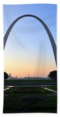 Jefferson National Expansion Memorial Beach Towel