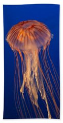 Beach Sheet featuring the photograph Jelly Fish by Eti Reid