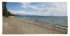 Beach Towel featuring the photograph Yellowstone Lake by Belinda Greb