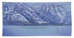 Jenny Lake - Grand Tetons Beach Sheet