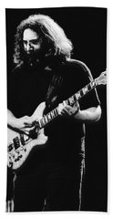 Jerry Garcia In Cheney 1978 Beach Towel