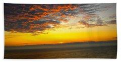 Jersey Morning Sky Beach Towel
