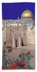 Jerusalem Beach Towel by Guido Borelli