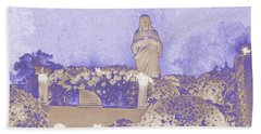 Beach Towel featuring the photograph All Saints Day In Lacombe Louisiana by Luana K Perez