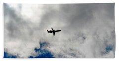 Jet Airplane Beach Sheet