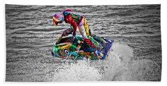 Jet Ski Beach Towel