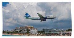 jetBlue in St. Maarten Beach Sheet