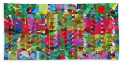Jewel Stones Sprinkle Abstract  Navinjoshi  Rights Managed Images Graphic Design Is A Strategic Art  Beach Towel