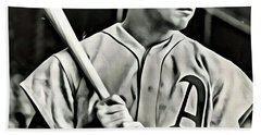 Jimmie Foxx Beach Towel
