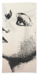 Joan Crawford Beach Towel
