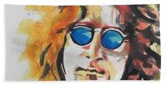 John Lennon 03 Beach Sheet