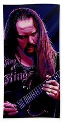 John Petrucci Painting Beach Towel