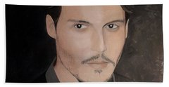 Johnny Depp - The Actor Beach Towel
