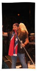 Johnny Van Zant Of Lynyrd Skynyrd Beach Sheet