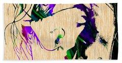 Joker Collection Beach Towel by Marvin Blaine
