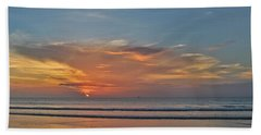 Jordan's First Sunrise Beach Towel by LeeAnn Kendall