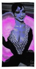 Josephine Baker The Original Flapper Beach Towel