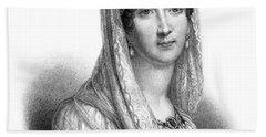 Josephine De Beauharnais (1763-1814) Beach Towel