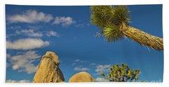 Joshua Tree Rocks And Sky Beach Towel