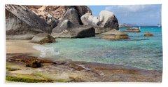 Jost Van Dyke Beach Towel