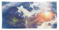 Journey To Another Dimension Beach Towel
