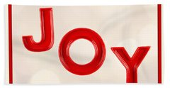 Beach Towel featuring the photograph Joy To The World by Vizual Studio