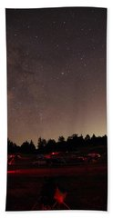 Julian Night Sky Milky Way Beach Sheet