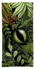 Jungle Eye Beach Towel