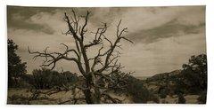 Juniper Tree Utah Beach Towel