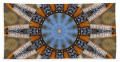 Beach Towel featuring the photograph Just Breathe by Betty Denise
