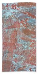 Beach Towel featuring the photograph Just Rust by Heidi Smith
